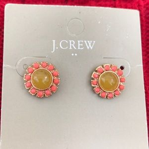 J. Crew flower 🌺 earring new with tags